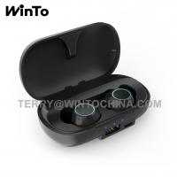 China Bluetooth Headphone with 2600mAh Charging Case USB Port BT 5.0 Wireless Earphones Touch Control wholesale