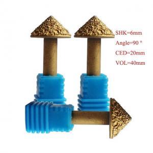 China 10mm 3D Diamond Diamond Sculpture Carving Tools Metallurgical Melt Diamond Tools wholesale