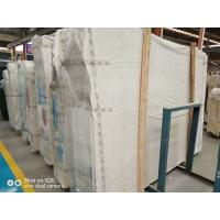 China Honed Home Marble Stone Tile / White And Grey Marble Floor Tiles wholesale