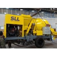 China Industrial Concrete Mixer Pump , Diesel Concrete Pump 40 Feet Container wholesale