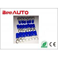 China RV1.25-4 Brass High Temperature Ring Terminals , Cable End Copper Ring Tongue Terminal wholesale