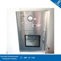 China Chemical Lab Clean Room Equipment / Dynamic Pass Box Excellent Flame Resistance wholesale