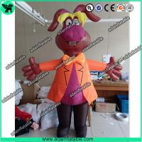 China Event Advertising Inflatable Dog Costume Animal Cartoon/Parade Inflatable wholesale