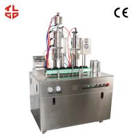 China Pneumatic Drive Oxygen Gas Spray Can Filling Machine With PLC Control System wholesale