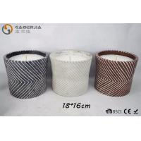 China Mosquito Repellent Oil White Burning Candle in Pot Or Twill Cylinder Cement wholesale