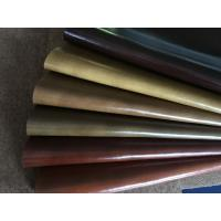 China Pu Coating composition leather material for bus , lading , furniture , bags wholesale