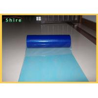 China Printable Plastic Floor Protection Film For Hard Surface Protection PE Adhesive on sale