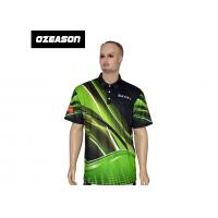 China Polyester Spandex High Quality All Over Printed Sports Polo T-Shirt wholesale