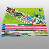 Quality Kids Saddle Stitch Printing With Spiral Binding , Teaching English Children Books for sale