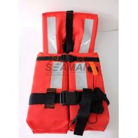 China 150N Offshore Marine Life Jacket SOLAS 74/96 CCS/MED With Reflective Tape wholesale