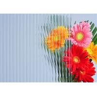 China Furniture Decorative Patterned Glass 5mm Thickness Clear Millennium Embossed Glass wholesale