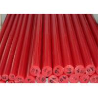 China Colorful low friction coefficient cast nylon plastic round bar for guide wheel on sale