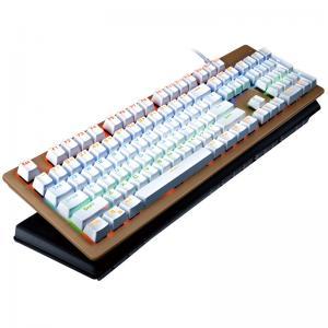 China Rainbow 104 Multimedia Keys Bezel Keyboard With LED Backlight Keyboard wholesale