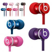 China 2014 New version  blue/purple/pink/silver beats urbeats earphone by dr dre with cheap wholesale price wholesale