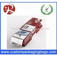 China Stand Up Aluminum Foil Pouches Coffee Packaging Bags With Center Seal Bag wholesale