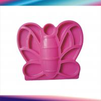 China Custom 3D PP, ABS, PE Plastic Molded Parts Butterfly Hairpin with LKM, Hasco Mould Base on sale