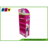 China Four Shelves Retail Cardboard Pop Displays For Plush Toys Promtion FL036 wholesale