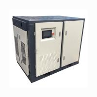 Two Stage PM VFD Rotary Screw Type Air Compressor 6.3m3 / Min 8 Bar 40HP 30KW