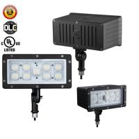China Aluminum High Lumen Outdoor LED Flood Light Cold White 6800Lm AC100-277V wholesale