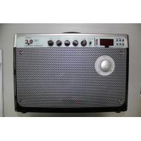 Music Bluetooth Portable Pa Speaker System With Cd Player , Rechargeable Battery