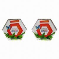 China Acrylic Fridge Magnet with High-quality, Customized Shapes and Sizes are Accepted wholesale