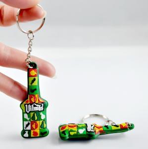 China Custom cheap basketball promotional gifts soft pvc keychain wholesale