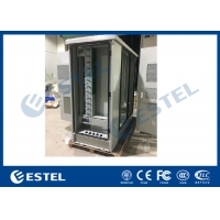 China Optical Fiber Distribution Cabinet Outdoor Telecom Cabinet Three Compartments wholesale