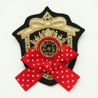 Quality Decorative Clothing Embroidered Patches Embroidered Badges No Minimum for sale