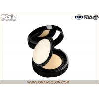 China Waterproof Mineral Pressed Powder For Face Makeup Ivory Color wholesale