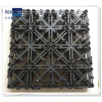 China PB-01 Upgrade Plastic base for composite decking tiles, decking floor plastic base wholesale