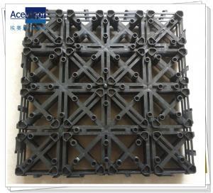 China PB-01 Upgrade Plastic base for composite decking tiles, decking floor plastic base wholesale