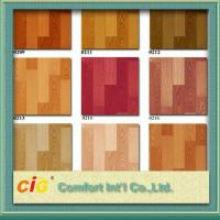 China Wood Grain Artos PVC Floor Covering , Waterproof Oilproof PVC Sports Flooring wholesale