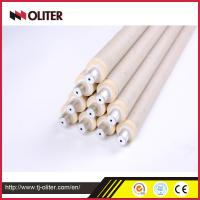China 604 triangle portable molten steel temperature multi-time thermocouple bottom or tip for steel factory using wholesale