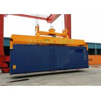 China Custom Color Container Lifting Spreader Bar With Robust Reliable Telescopic System wholesale