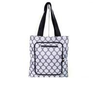 China Personalized Custom Grocery Tote Bags with Zipper Closure Outside Pocket on sale