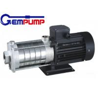 China CHL light stainless steel Multistage High Pressure Pumps low noise wholesale