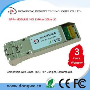 China SFP-10G-LR Cisco 10GBASE-LR SFP+ transceiver module Fiber Optic Equipment on sale