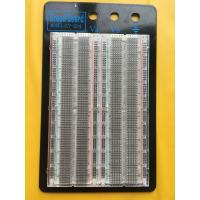China Testing Transparent Breadboard Prototype 1660 Point Solderless Bread Board wholesale