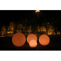 Buy cheap Dia 80cm PE Long Lasting Decorative LED Night Lights , LED Ball Lights from wholesalers