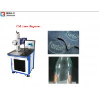 China Plastic Laser Engraving Machine For Plastic Boxes , Carving Machine Water Cooling wholesale