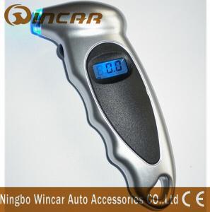 China Universal Diagnostic Digital Air Pressure Gauge For Bicycle / Bike / Car Tires wholesale