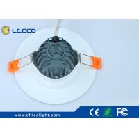 China Bezn Type 120° Beam Angle LED Recessed  Downlight COB 7W 100 LM / W 2700K - 6400K wholesale