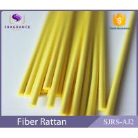 China Yellow Straight Synthetic Polyester Reed Diffuser Sticks Scent Diffuser Sticks Smooth wholesale