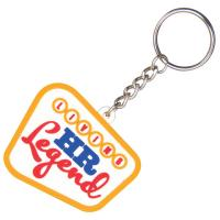 China Santa pvc key chain on sale