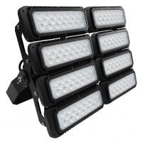 China 600W 155lm/W Outdoor LED Flood Lights With 10 Years Warranty , Black Color Body , Professional Beam Angle wholesale