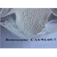 China Pain Killer Local Anaesthesia Drugs , Pure Benzocaine Powder Cas 94 09 7 99% Assay wholesale