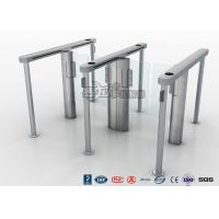 Quality Slim Speed Gate Turnstile , Access Management Automatic Swing Gates with consumption system for sale