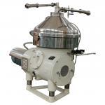 China Centrifugal Dairy Cream Separator , Compact Butter Separator Machine wholesale