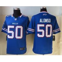 China Nike NFL Buffalo Bills 50 Alonso Blue Limited Jerseys cheap wholesale wholesale