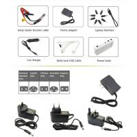 China lipo battery 12000mah 12V portable jump start auto mobile charger power bank wholesale
